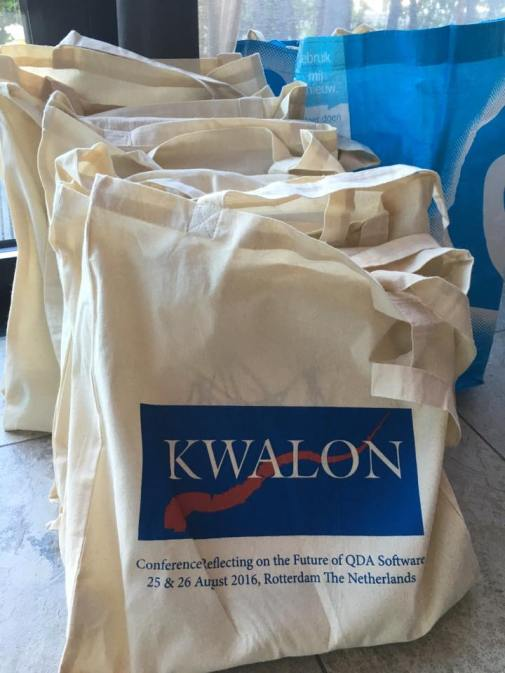 Conference goody bag